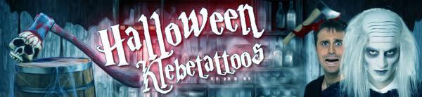 Halloween Klebetattoos