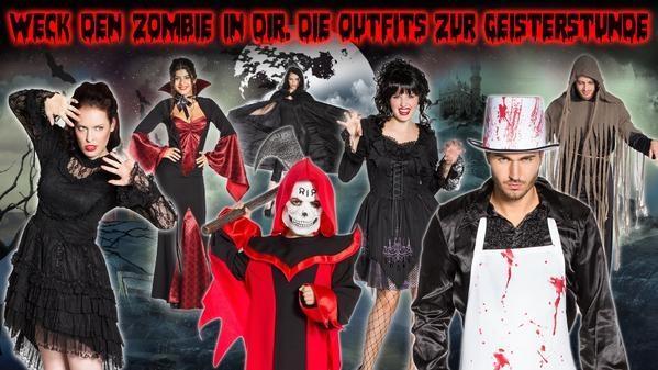 Deiters - Weck den Zombie in dir. Die Outfits zur Geisterstunde