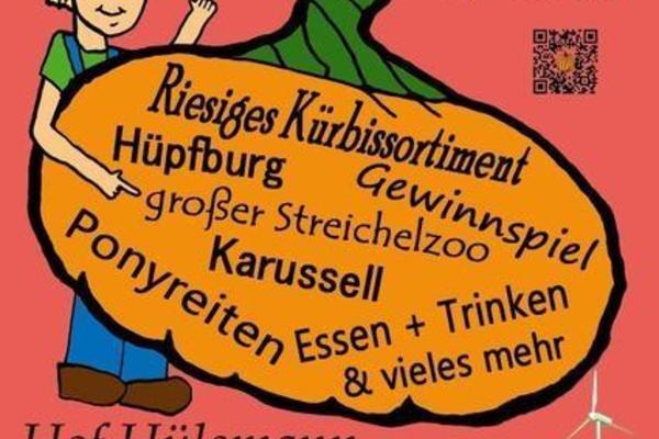 Kürbisfest auf dem Hof Hülsmann, verschiedene Attraktionen