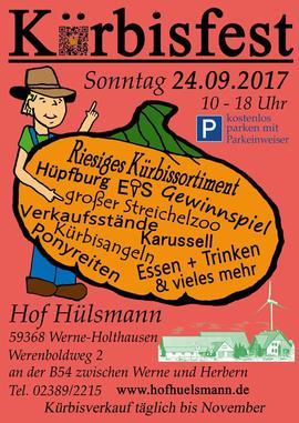Kürbisfest Hof Hülsmann