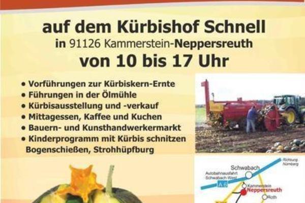 Kürbiskern-Erntefest auf dem Kürbishof Schnell, 11. Oktober 2015