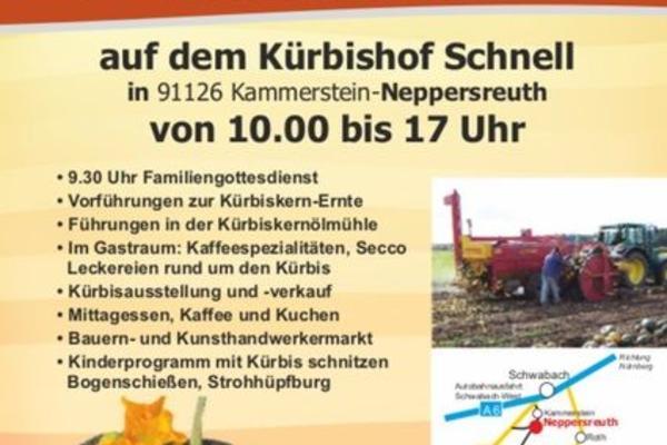 Kürbiskern-Erntefest auf dem Kürbishof Schnell, 8. Oktober 2017