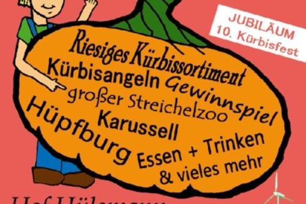 Kürbisfest in Werne, verschiedenste Attraktionen