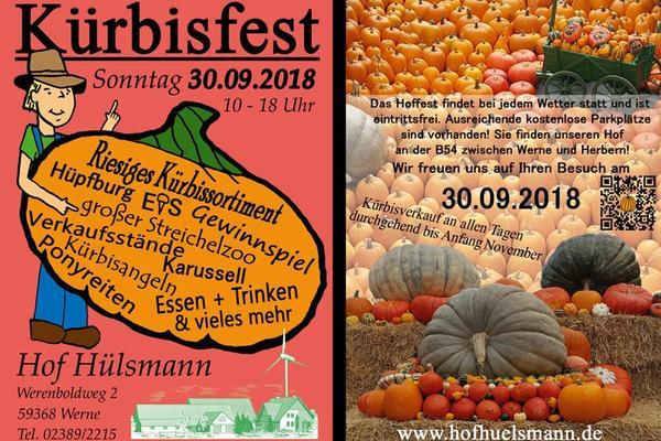 Kürbisfest auf dem Hof Hülsmann