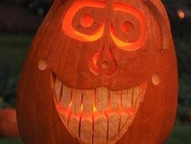 Halloween-Kürbis-Schnitzen Kürbis
