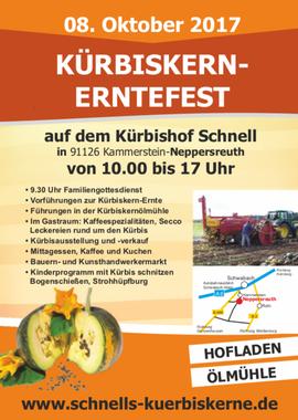 Kürbiskernerntefest Hof Schnell