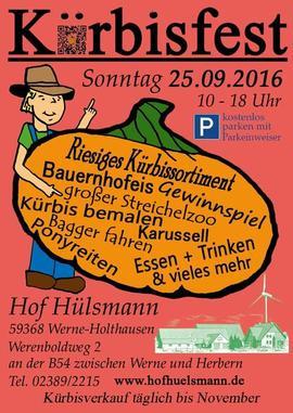 Kürbis Hof Hof Hülsmann